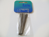 Pack of 7cm straight hairpins in brown (Code 0155)